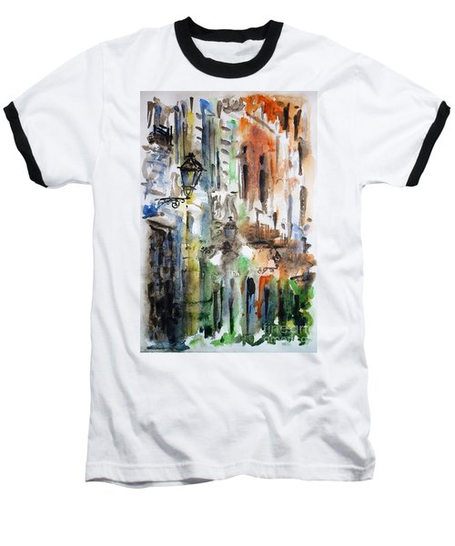 Old Houses Of San Juan Baseball T-Shirt