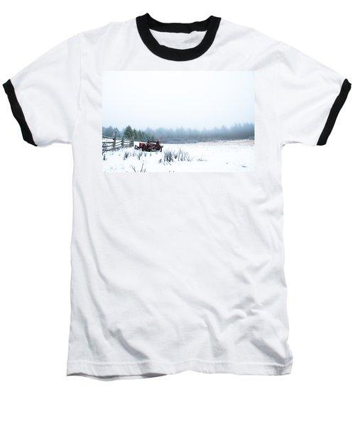 Old Manure Spreader Baseball T-Shirt