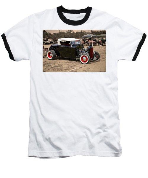 Old School Hot Rod Baseball T-Shirt