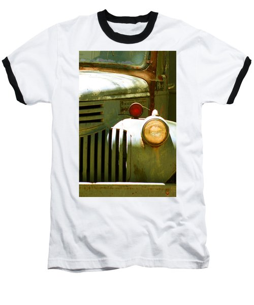 Old Truck Abstract Baseball T-Shirt