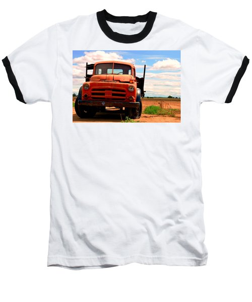Old Truck Baseball T-Shirt