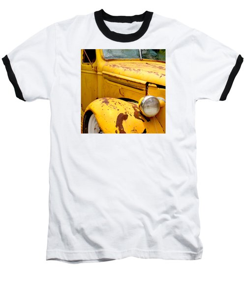 Old Yellow Truck Baseball T-Shirt
