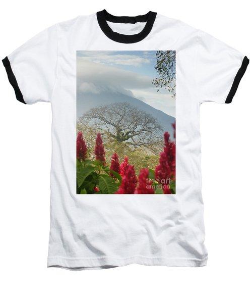 Ometepe Island 1 Baseball T-Shirt by Rudi Prott