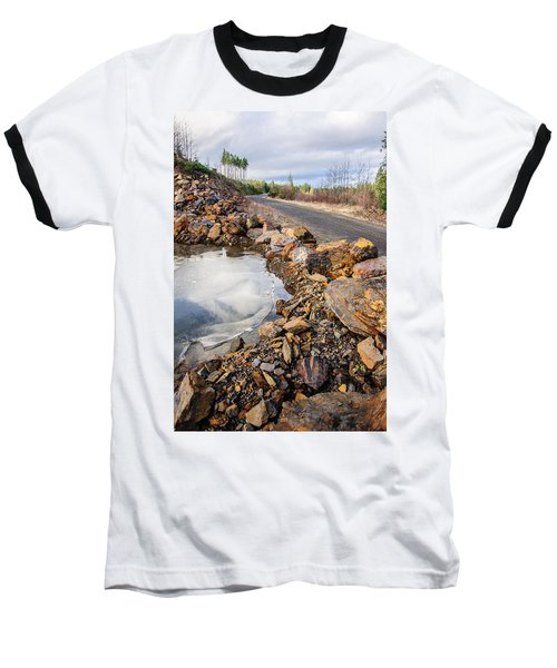 On Frozen Pond Collection 6 Baseball T-Shirt