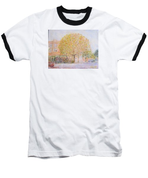 Leland Avenue In Chicago Baseball T-Shirt