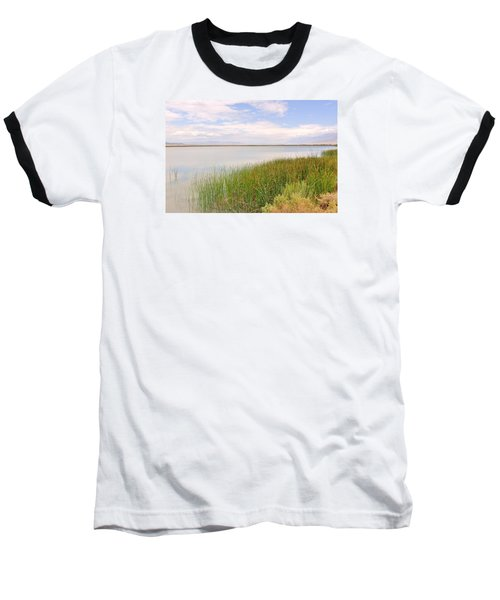 Baseball T-Shirt featuring the photograph On Shore by Marilyn Diaz