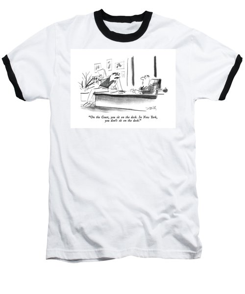 On The Coast Baseball T-Shirt