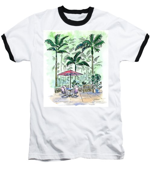 On The Lanai Baseball T-Shirt