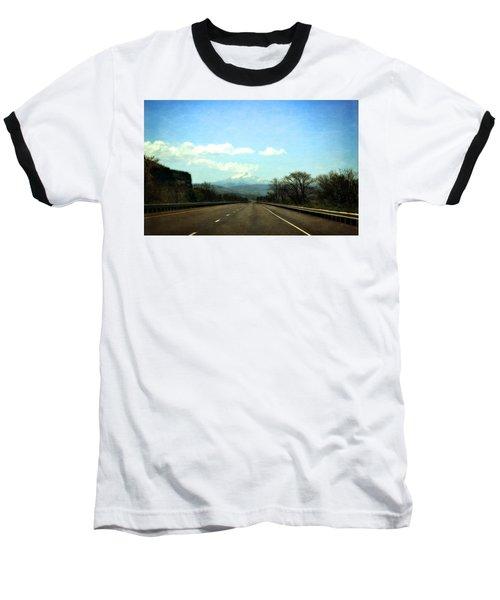 On The Road To Mount Hood Baseball T-Shirt