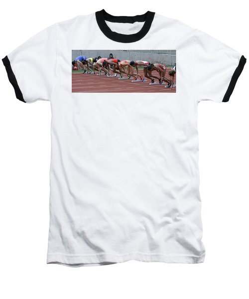 On Your Marks Baseball T-Shirt
