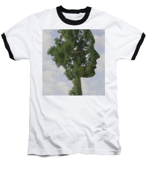 One With Nature Baseball T-Shirt