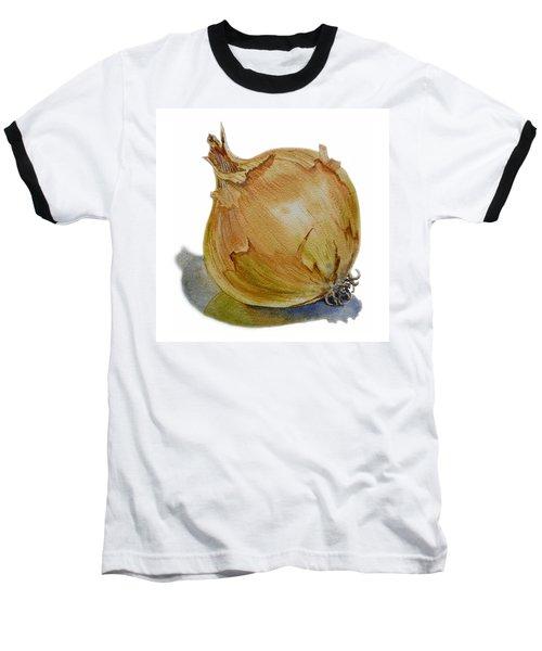 Onion Baseball T-Shirt by Irina Sztukowski