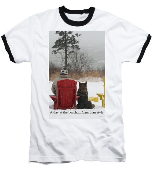 Only In Canada Baseball T-Shirt