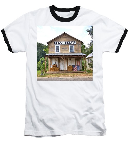 Baseball T-Shirt featuring the photograph Opry House - Square by Gordon Elwell