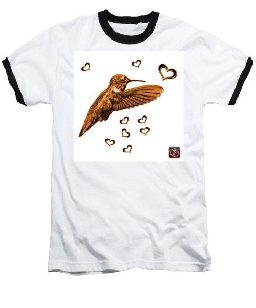 Orange Hummingbird - 2055 F S M Baseball T-Shirt
