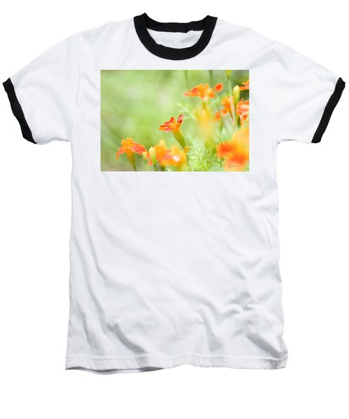 Baseball T-Shirt featuring the photograph Orange Meadow by Ann Lauwers