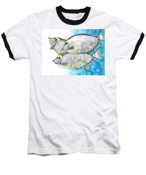 Orangespine Unicornfish Baseball T-Shirt