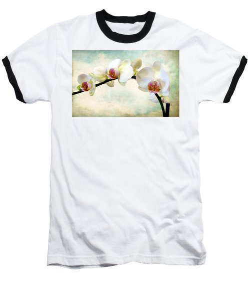 Orchid Heaven Baseball T-Shirt