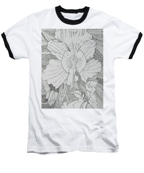 Orchid In Disguise Baseball T-Shirt