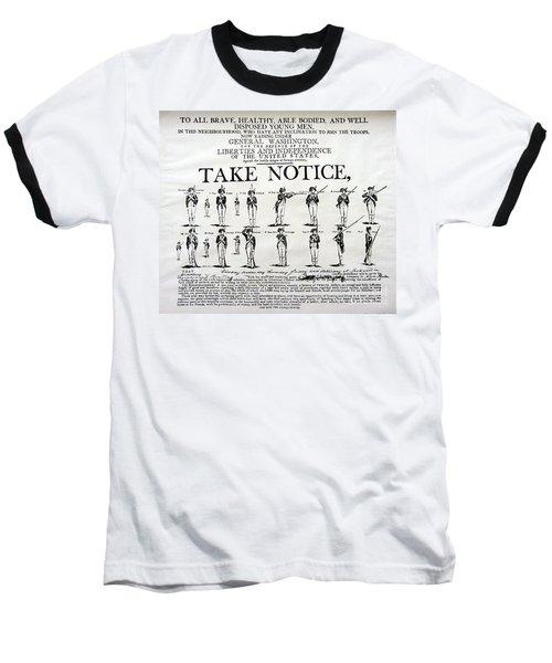 Order Of Battle - Take Notice Brave Men Baseball T-Shirt
