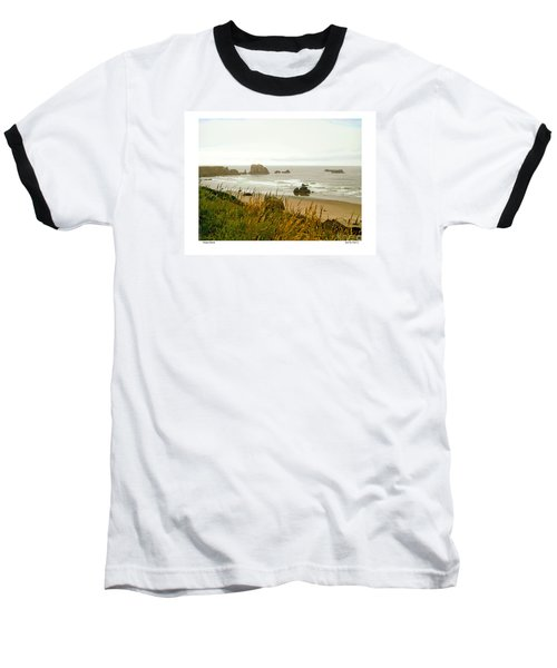Oregon Beach Baseball T-Shirt