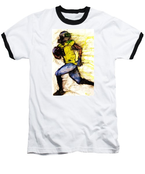 Oregon Football 2 Baseball T-Shirt by Michael Cross
