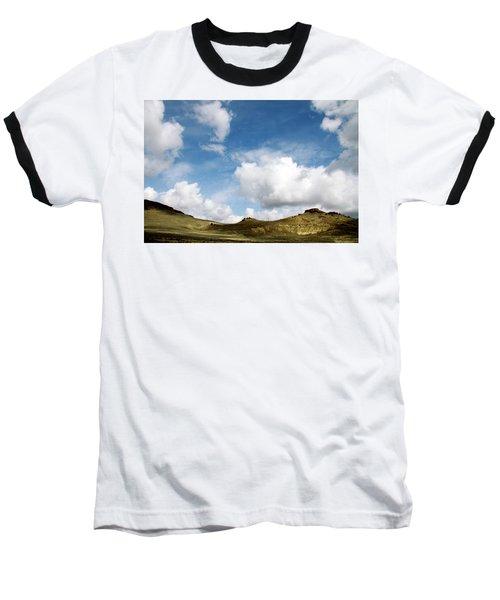 Oregon Trail Country Baseball T-Shirt by Ed  Riche