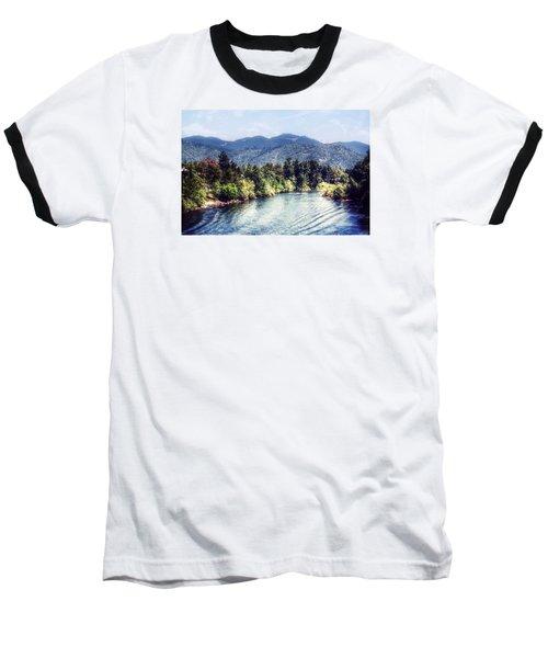 Oregon Views Baseball T-Shirt by Melanie Lankford Photography