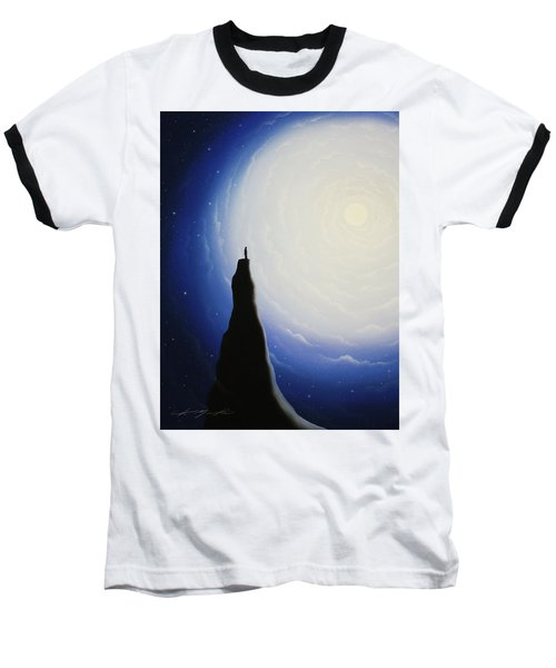 Somewhere Out In Space Baseball T-Shirt