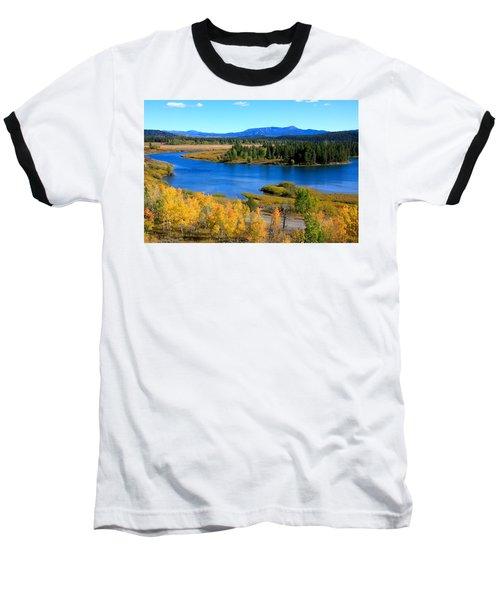 Oxbow Bend, Grand Teton National Park Baseball T-Shirt