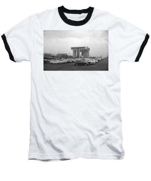 P O N Y A Building Baseball T-Shirt