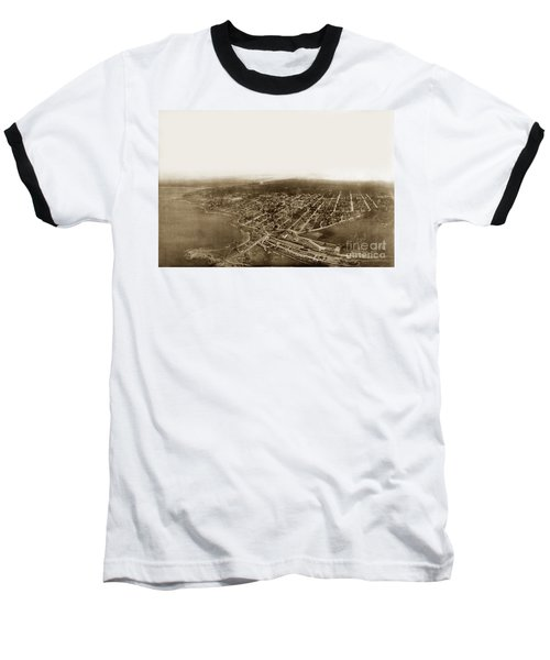 Pacific Grove 1200 From Feet Above Lovers Point And Monterey Bay 1906 Baseball T-Shirt