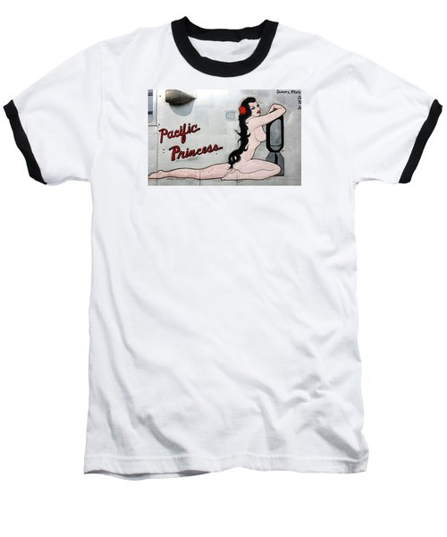 Baseball T-Shirt featuring the photograph Pacific Princess by Kathy Barney