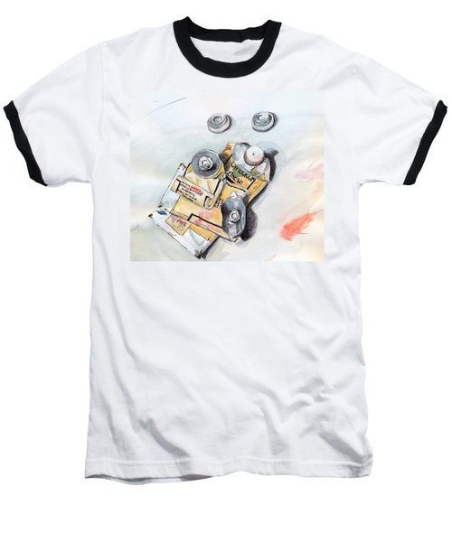 Paint Tubes Baseball T-Shirt