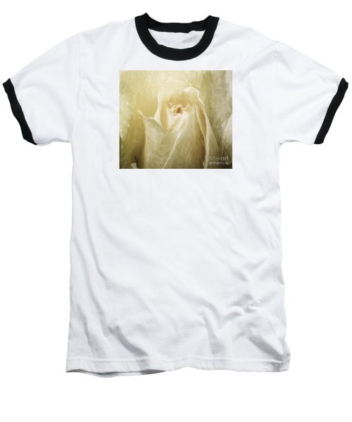 Painted Rose Baseball T-Shirt