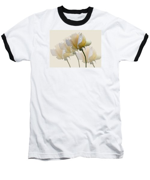 Baseball T-Shirt featuring the photograph Pale Yellow by Rosalie Scanlon
