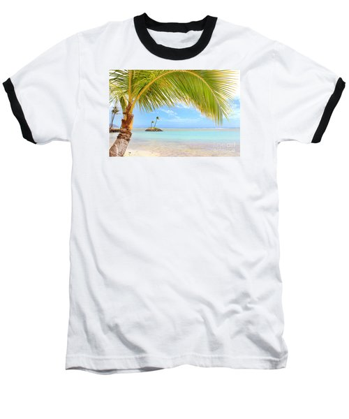 Baseball T-Shirt featuring the photograph Palm Tree by Kristine Merc