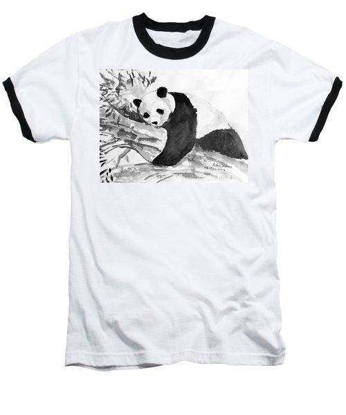 Panda Baseball T-Shirt