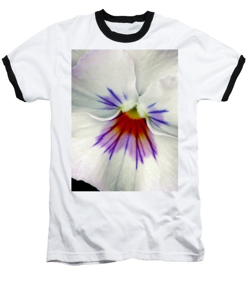 Pansy Flower 11 Baseball T-Shirt