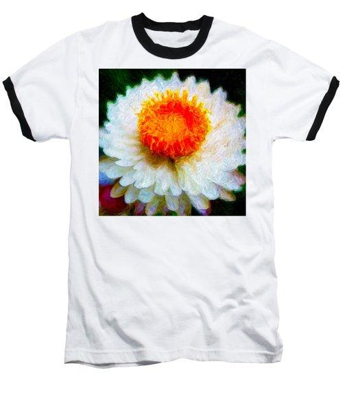 Paper Daisy Baseball T-Shirt