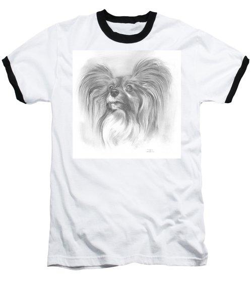 Papillon Baseball T-Shirt