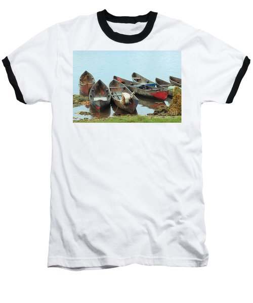 Parking Boats Baseball T-Shirt