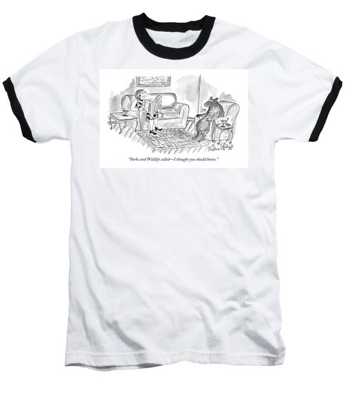 Parks And Wildlife Called - I Thought Baseball T-Shirt