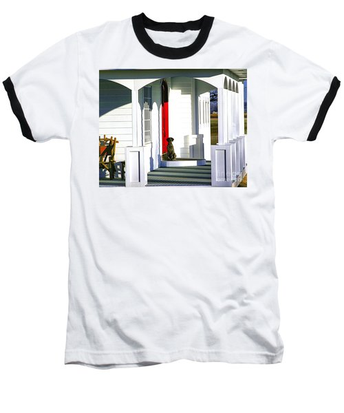 Patience Baseball T-Shirt