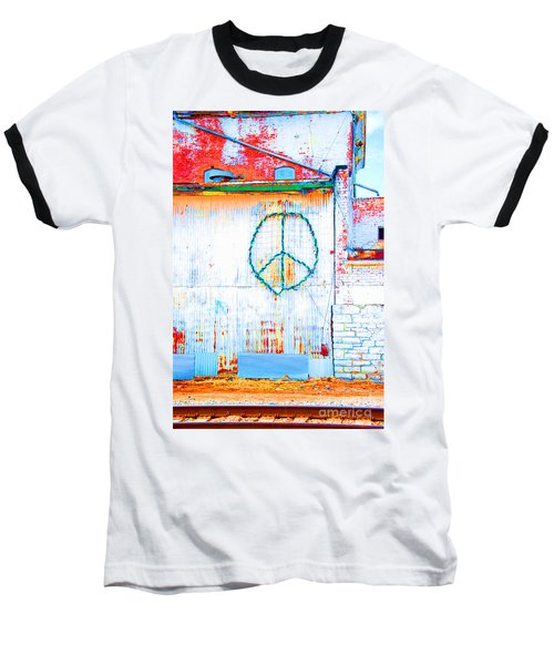 Peace 3 Baseball T-Shirt