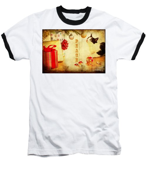 Peace And Joy To All Baseball T-Shirt