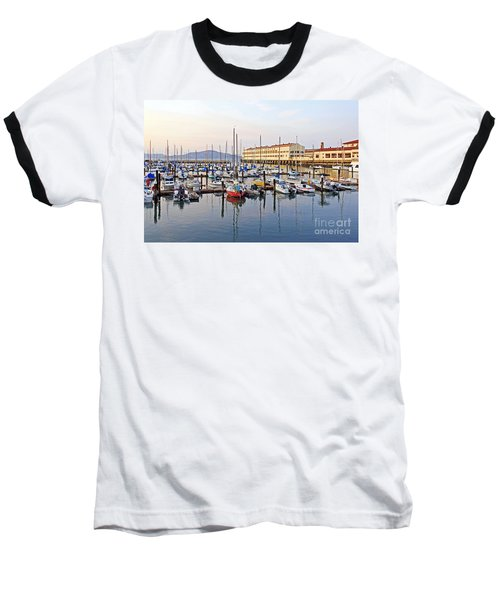 Baseball T-Shirt featuring the photograph Peaceful Marina by Kate Brown
