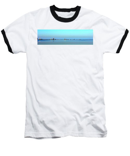 Peaceful Pensacola Beach Baseball T-Shirt