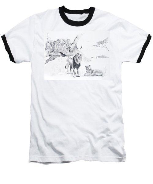 Peaceful Pride Baseball T-Shirt