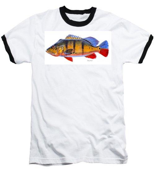 Peacock Bass Baseball T-Shirt
